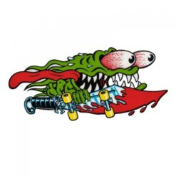 Santa Cruz Skateboard Sticker Slasher Sword