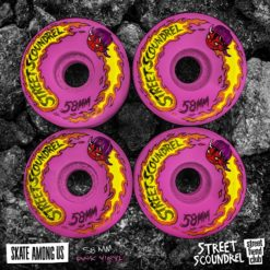 Street Plant Street Scoundrel Skateboard Wheels 58mm